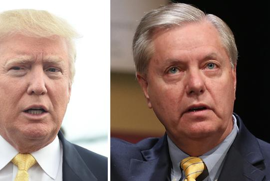 Picture for Graham told Trump he 'f'd up' his presidency: book