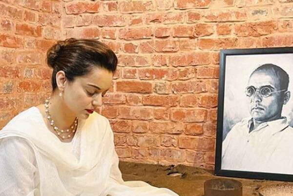 Picture for Kangana Ranaut pays respect to Veer Savarkar as she visits Kala Pani jail during Tejas shoot in Port Blair