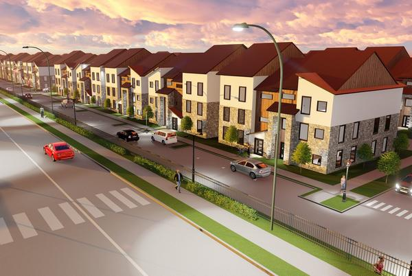 Picture for New townhouses at Plano's Collin Creek Mall site will start in the $500,000s