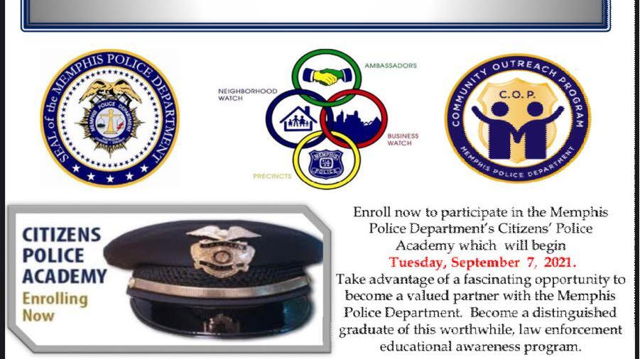 Picture for Sign up now for the next Citizens' Police Academy with the Memphis City Police Department