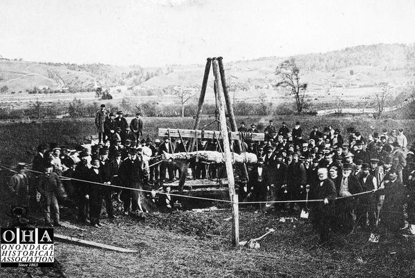 Picture for The 'discovery' of the Cardiff Giant in 1869 transforms an Onondaga County hamlet into 'Giantville'