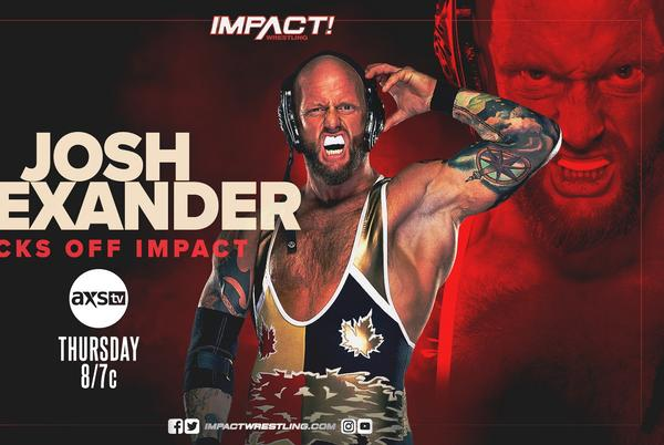 Picture for Josh Alexander, Mickie James appearances set for Impact