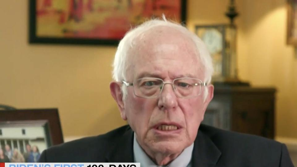 Picture for Bernie Sanders says he won't support the bipartisan infrastructure bill if its paid for by raising gas taxes or creating fees on electric vehicles