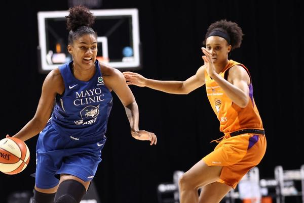 Picture for Damiris Dantas of Minnesota Lynx ruled out for remainder of season