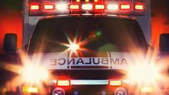 Cover for One person injured in single-vehicle accident in Bridgeport