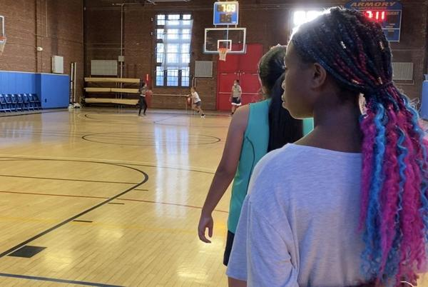 Picture for Girls gain valuable insights playing on Newburgh hoops team