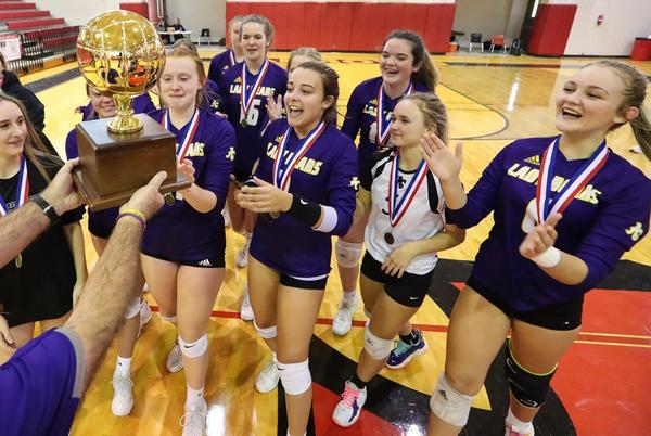 Picture for Alcorn Centrals sweeps OLA for 3A Volleyball Title