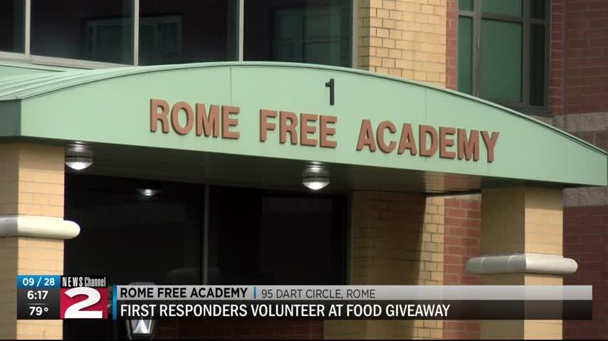 First Responders Give Back To The Community News Break