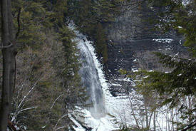 Picture for Forest rangers rescue Fort Drum climbers in Tug Hill State Forest