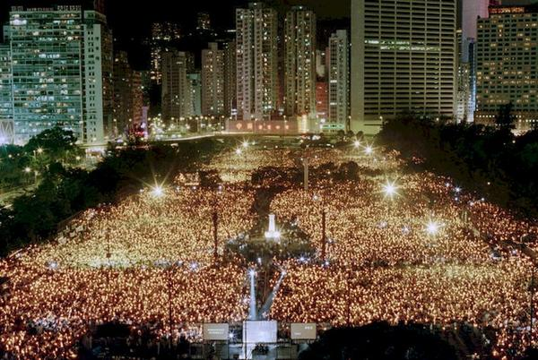 Picture for Hong Kong police order Tiananmen vigil group to delete websites