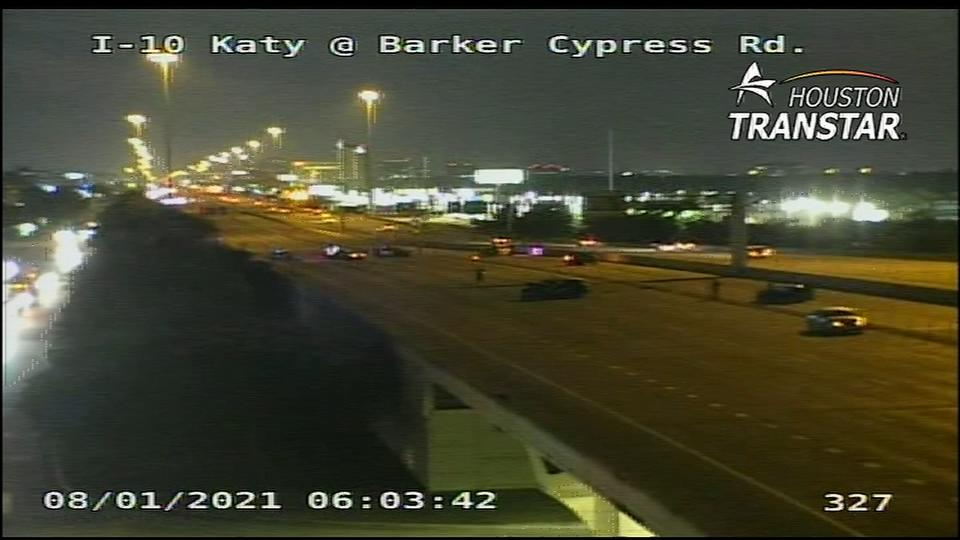 Picture for Katy Freeway closed due to fatal crash near Barker Cypress