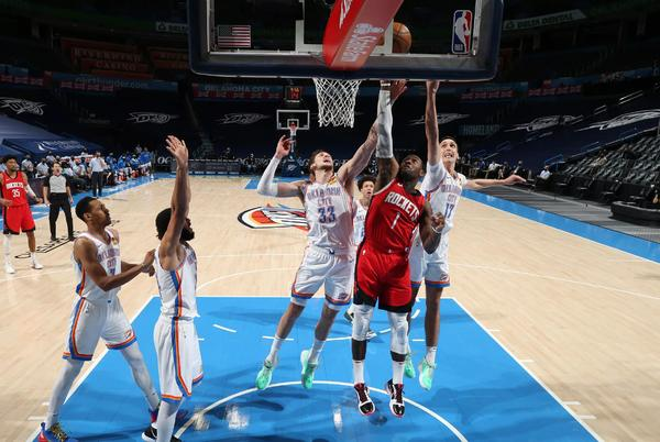 Picture for Three observations from the Rockets' victory over the Thunder