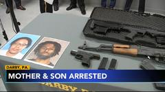 Cover for Mother, son arrested in connection with Delaware County shooting