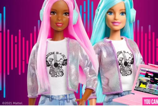 Picture for Barbie (the doll) is now a record producer