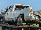 Picture for Tire blowout causes pickup to crash near Sarcoxie, Joplin man injured