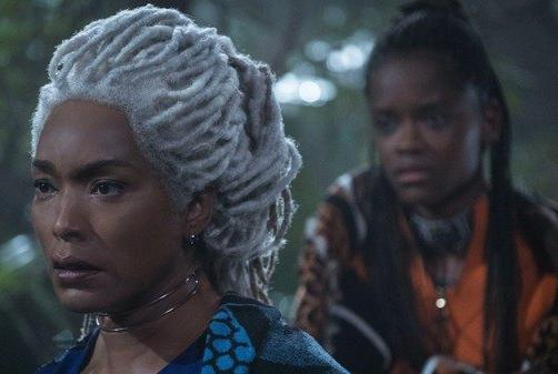 Picture for Black Panther's Angela Bassett Gives Update After Letitia Wright's Wakanda Forever Injury