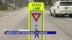 Cover for Need for crossing guards in Middle Tennessee districts