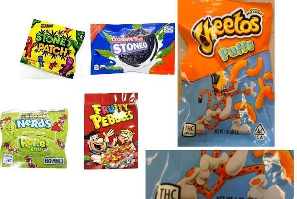 Picture for The List: Ranking the edibles pictured in the Attorney General's Halloween press release