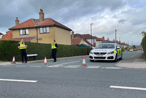 Picture for Police cordon lifted after hand grenade discovered in Harrogate