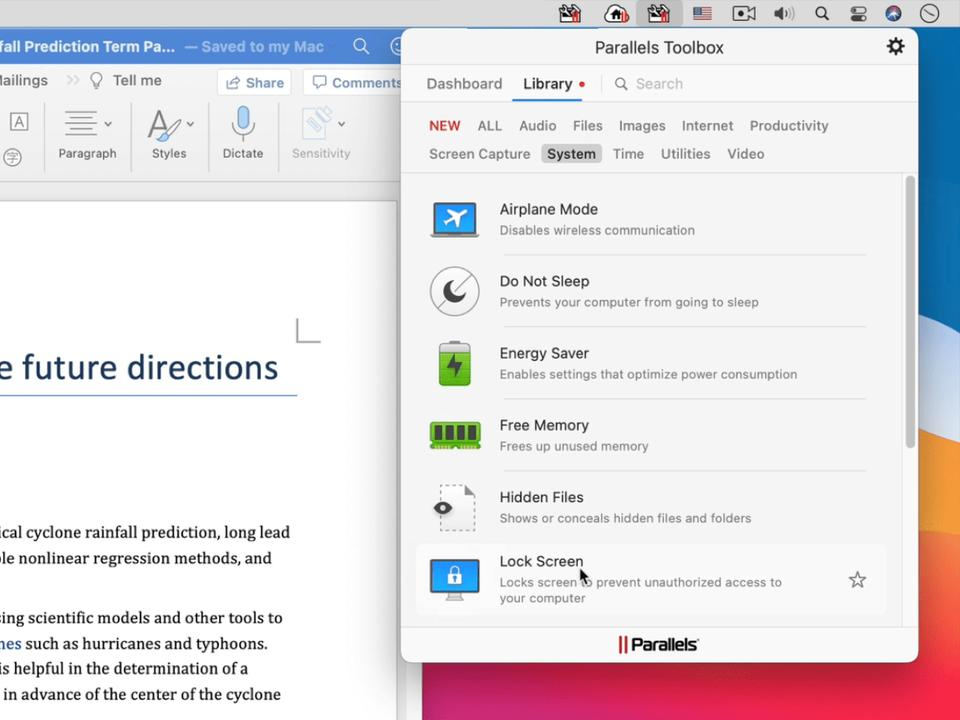 parallels-toolbox-4-5-adds-support-for-apple-silicon-a-customizable-dashboard-and-a-new-user-interface