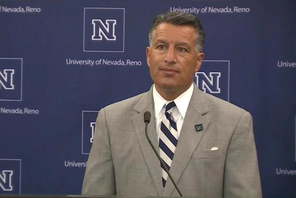 Picture for UNR President Brian Sandoval tests positive for COVID-19