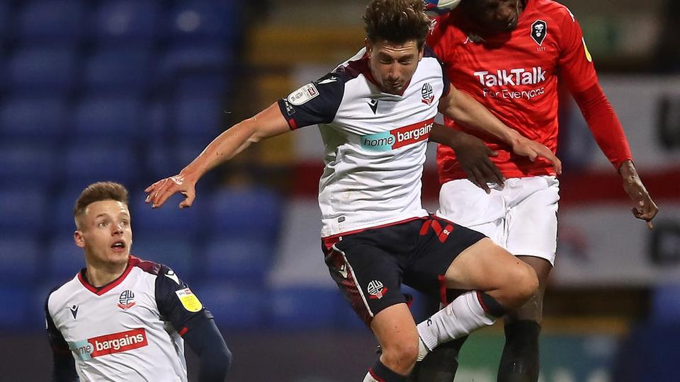Picture for It's Shaun Miller time again as substitute boosts Bolton into play-off places