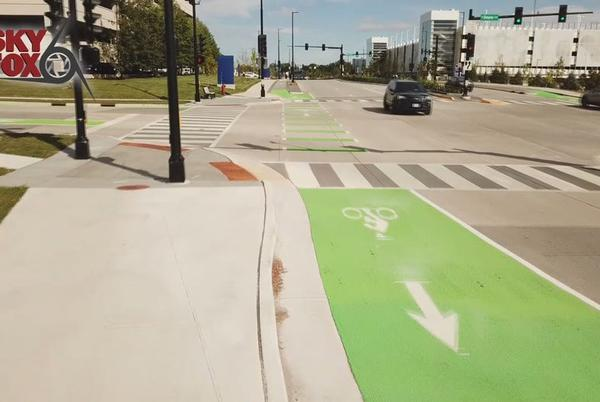 Picture for Wauwatosa 87th Street traffic project complete