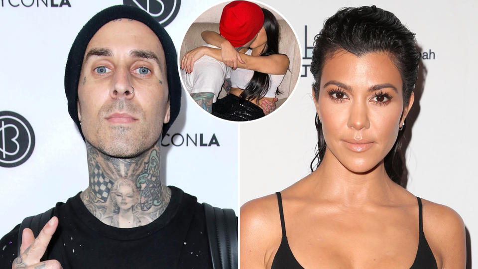 Picture for Travis Barker Shares Steamy Photo of Girlfriend Kourtney Kardashian in His Lap in His Cadillac