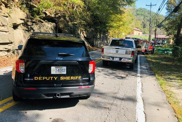 Picture for Truck goes airborne toward creek, driver killed during accident