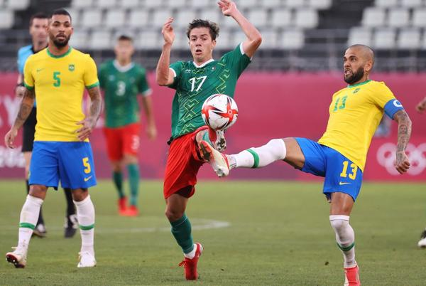 Picture for Mexico vs Brazil summary: score, goals, highlights, Olympics 2021