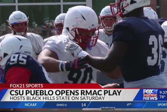 Picture for CSU Pueblo football opens RMAC play in search of first win