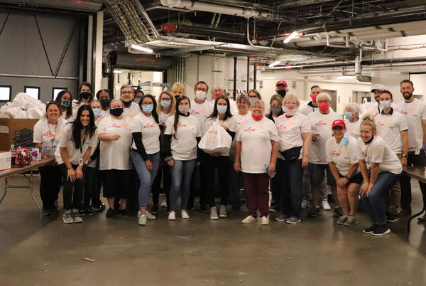 Picture for Red Wings, Kroger and Forgotten Harvest team up to feed families in need