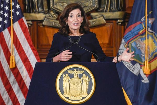 Picture for Hochul launches massive COVID testing program for anti-vax state workers