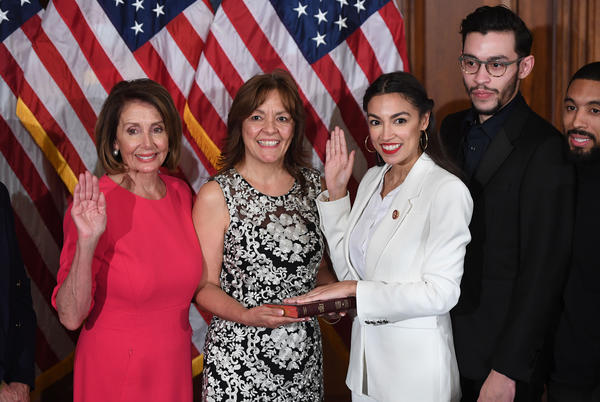 Picture for Nancy Pelosi rejects criticism from AOC during '60 Minutes' interview
