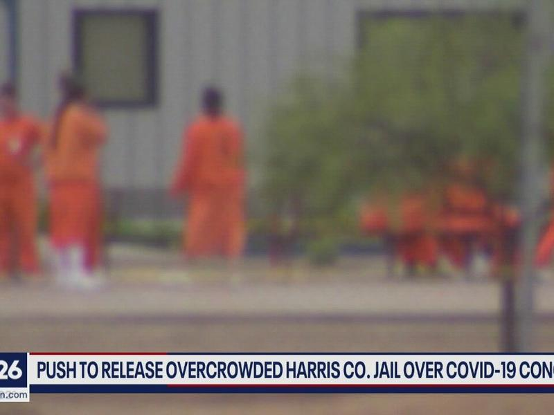 Push for release of some inmates at Harris Co. jail | News ...