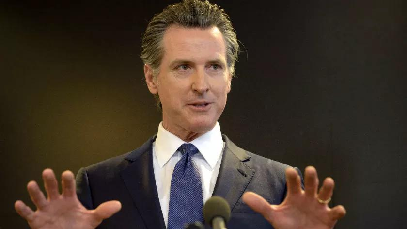 Picture for Newsom assaulted during Oakland visit