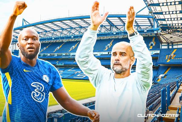 Picture for Chelsea star Romelu Lukaku receives high praise from City boss Pep Guardiola