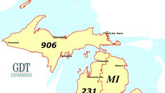 Cover for 10-Digit Dialing Mandatory In Michigan's 616, 810, 906 and 989 Area Codes – On Oct. 24