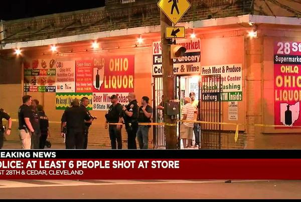 Picture for Woman calls 911 to report Cleveland shooting, gets hit with gunfire while still on phone (GRAPHIC)