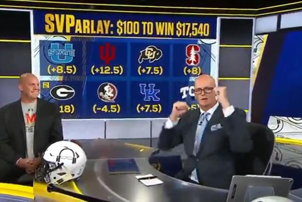 Picture for ESPN's Scott Van Pelt pays homage to Terps ahead of crucial Friday night showdown