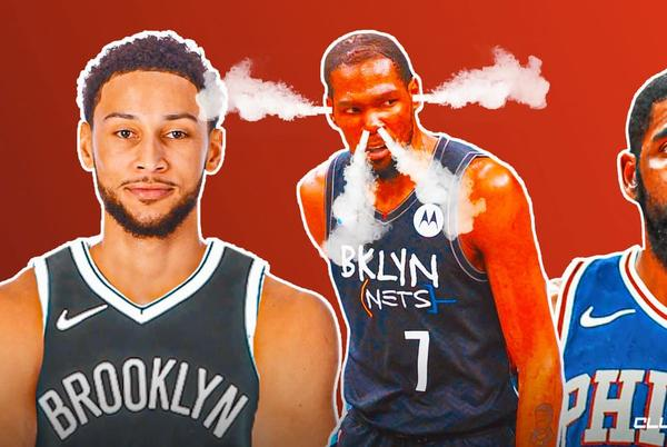 Picture for The reality behind Kevin Durant's role in rumored Ben Simmons-Kyrie Irving trade