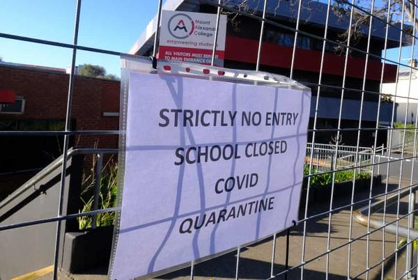 Picture for Covid outbreaks have shut more than 320 schools across NSW and Victoria in past three weeks