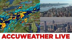 Cover for AccuWeather Alert: Tornado Warnings in New Jersey as storms arrive