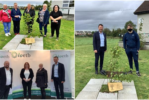 Picture for LOETB plant Hazel Tree in Mountmellick to commemorate National Traveller Mental Health Day
