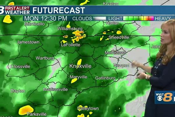 Picture for Steady flow of rain today, before a First Alert and a cold front this week