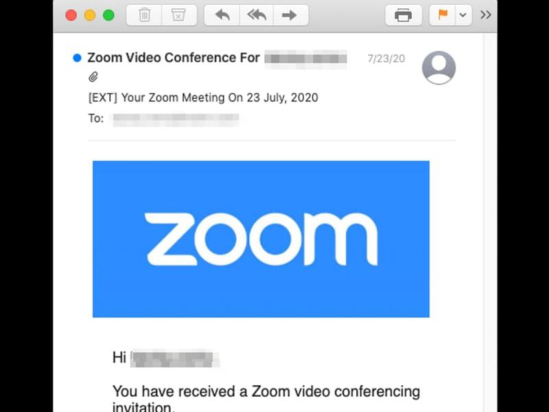 Fake Zoom Meeting Invitation Phishing Scam Harvests Microsoft Credentials News Break