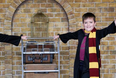 "Picture for ""Harry Potter"" Platform 9 3/4 Trolley Tour Begins in Edinburgh"