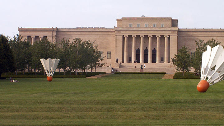 Cover for Brief History of the Nelson Art Gallery in Kansas City, Missouri