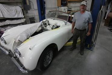 Picture for Minnesota man quietly brings classic cars back to life