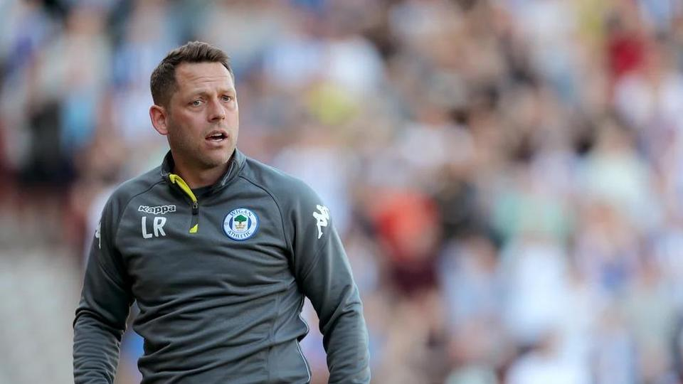 Picture for Leam Richardson pleased with point as Wigan look to follow Burton in staying up